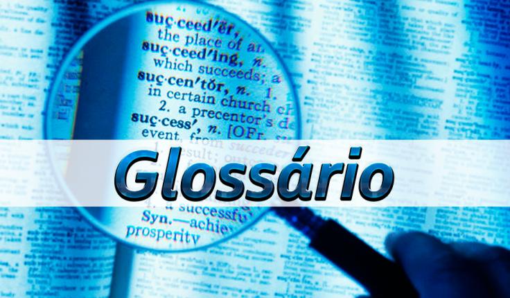 Resultado de imagem para glossário